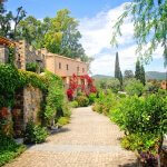 Picture of a cute town in Greece